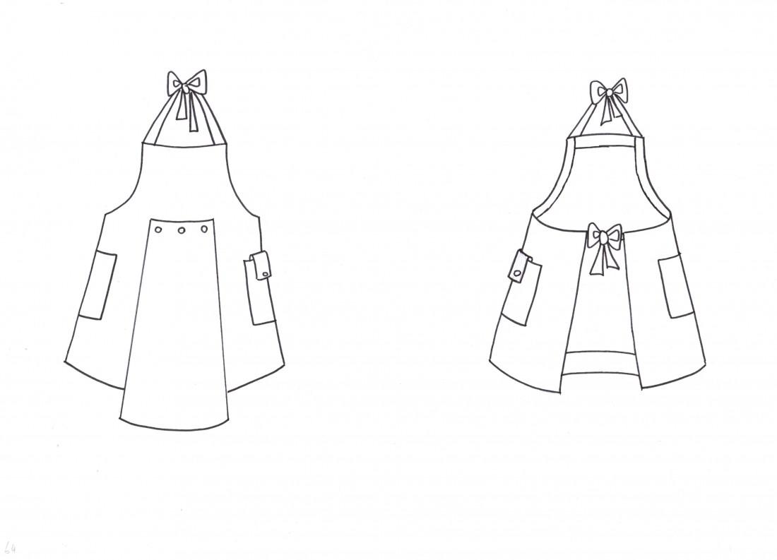 ivanne s patron de couture procyon tablier grains de couture pour enfants ivanne soufflet. Black Bedroom Furniture Sets. Home Design Ideas