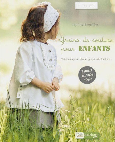 Couverture du livre Grains de couture pour enfants