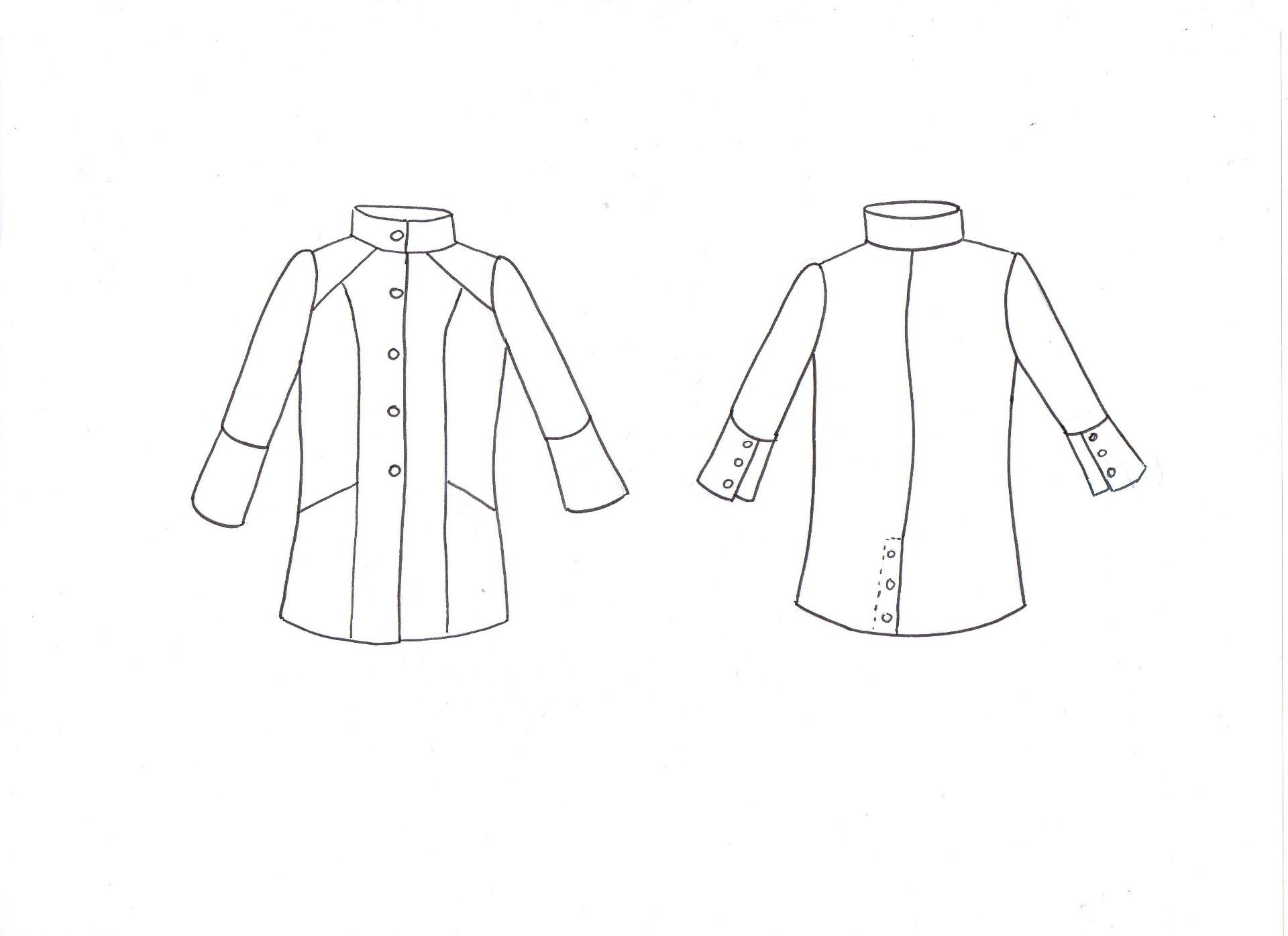 Manteau De Veste Patron Couture Ivanne s Trench Amethyste q1w60zHAx