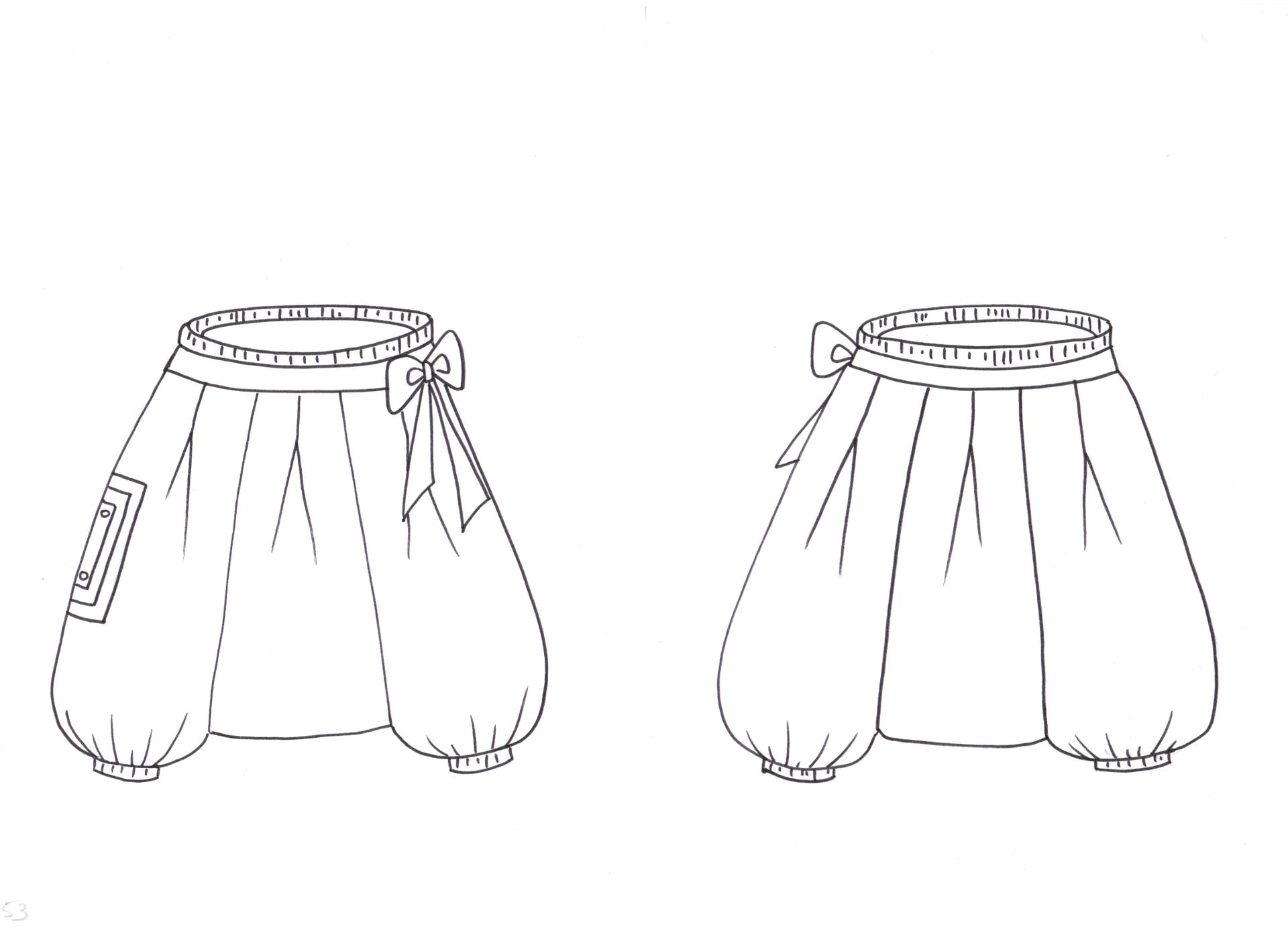 ivanne s patron de couture ankaa sarouel grains de couture pour enfants ivanne soufflet. Black Bedroom Furniture Sets. Home Design Ideas