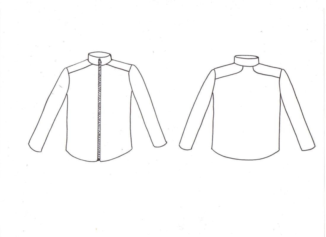 Extrem Ivanne.S | Patron de couture BASALTE, gilet homme, tee-shirt homme  JC76