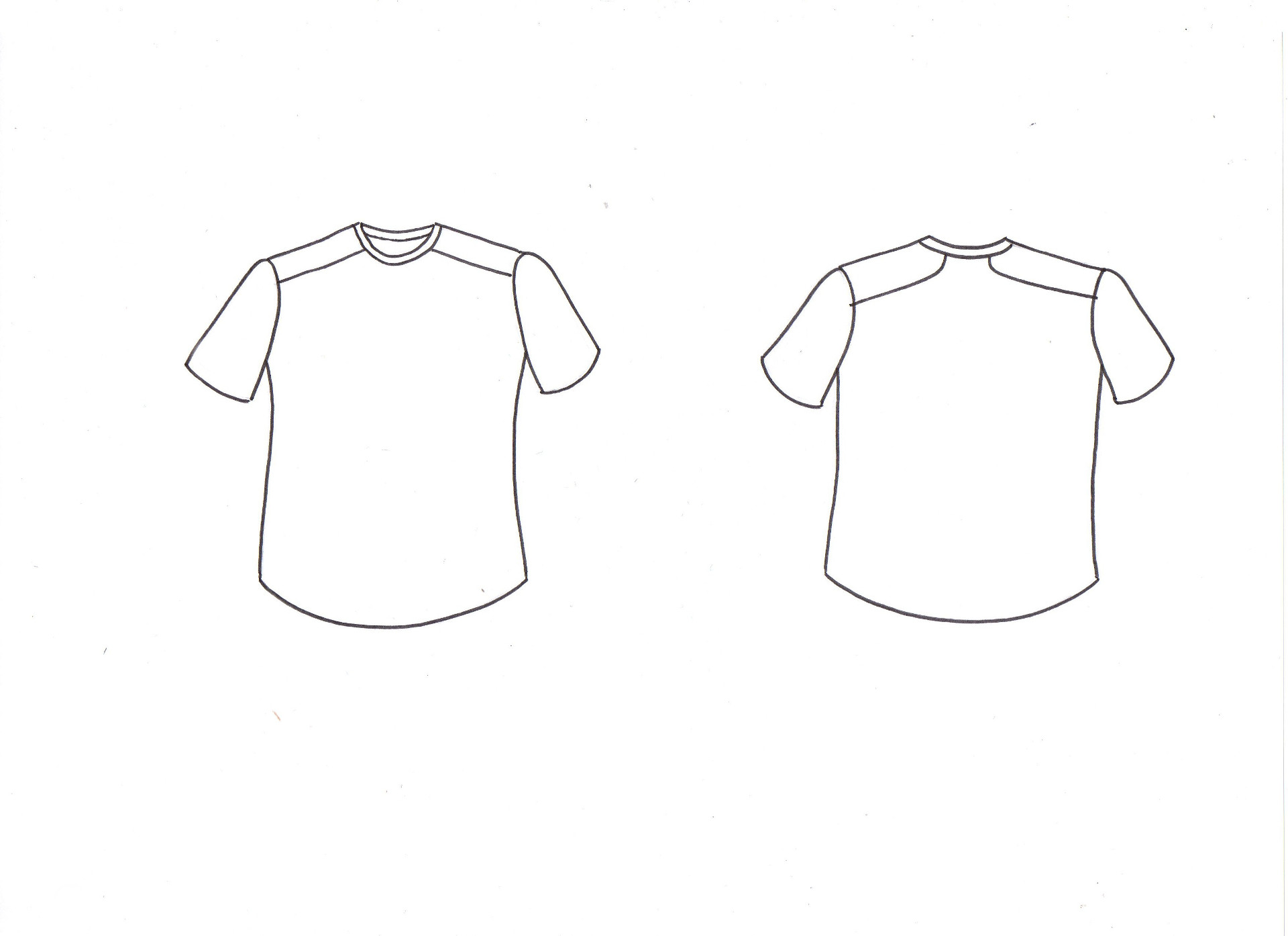 patron couture t-shirt homme