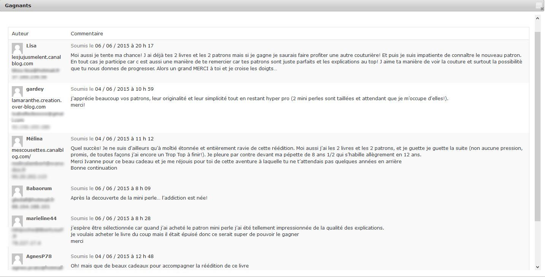 GAGNANTS Concours GDC réédition