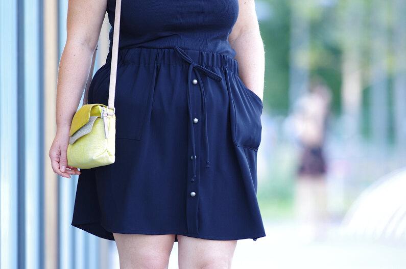 ivanne s comment coudre une jupe boutonn e poches pour d butant. Black Bedroom Furniture Sets. Home Design Ideas