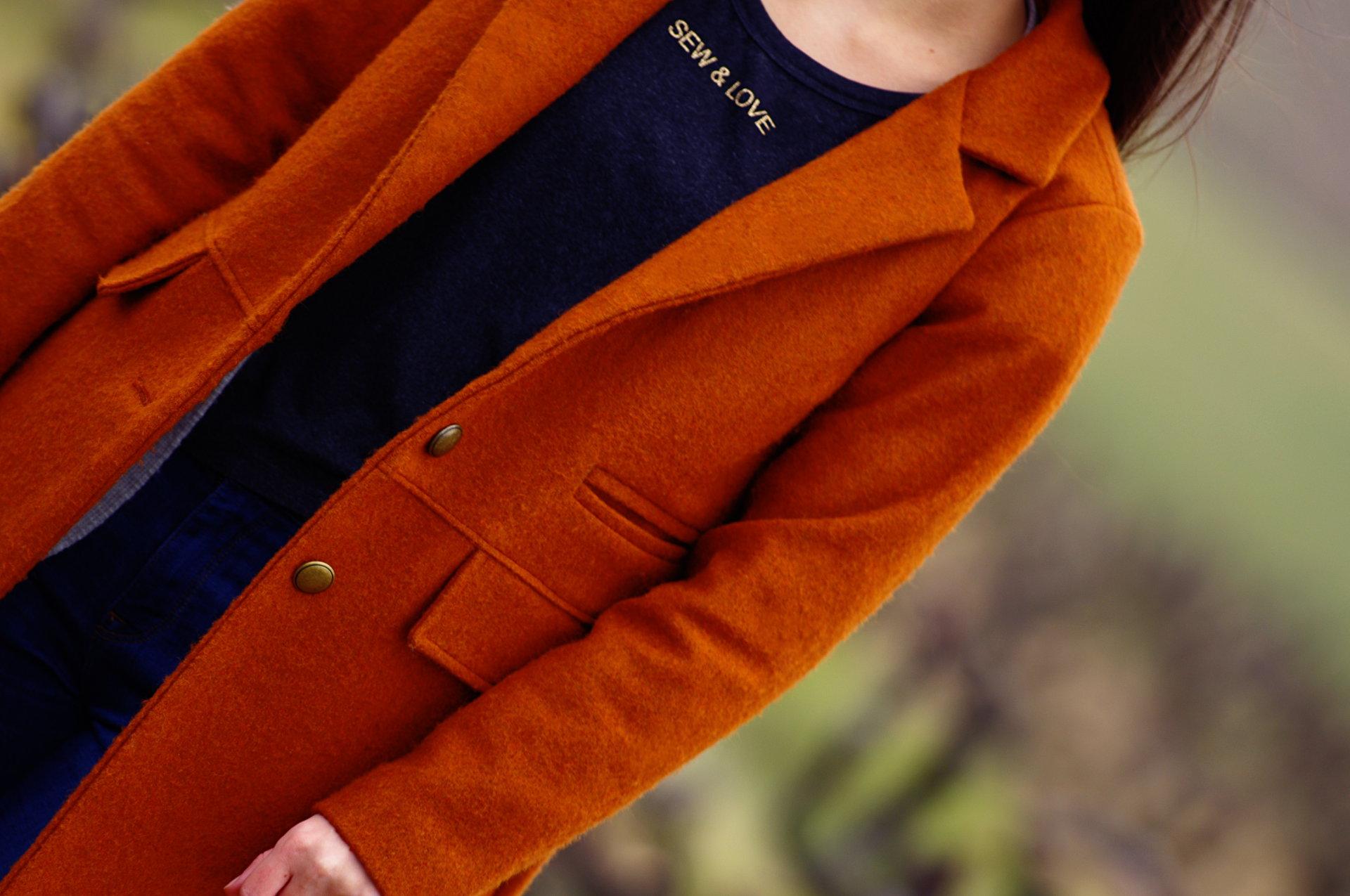 Ivanne.S | Comment coudre un beau manteau pour femme avec un